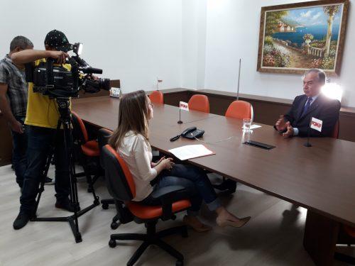 Fonif_entrevista Custodio Pereira para TV Bandeirantes