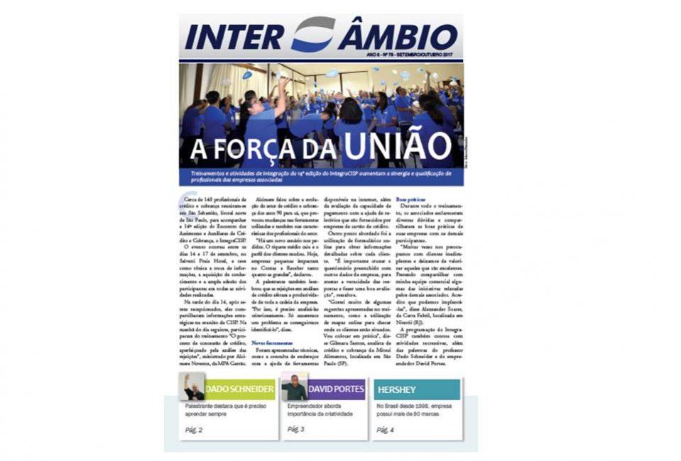capa da Revista Intercâmbio