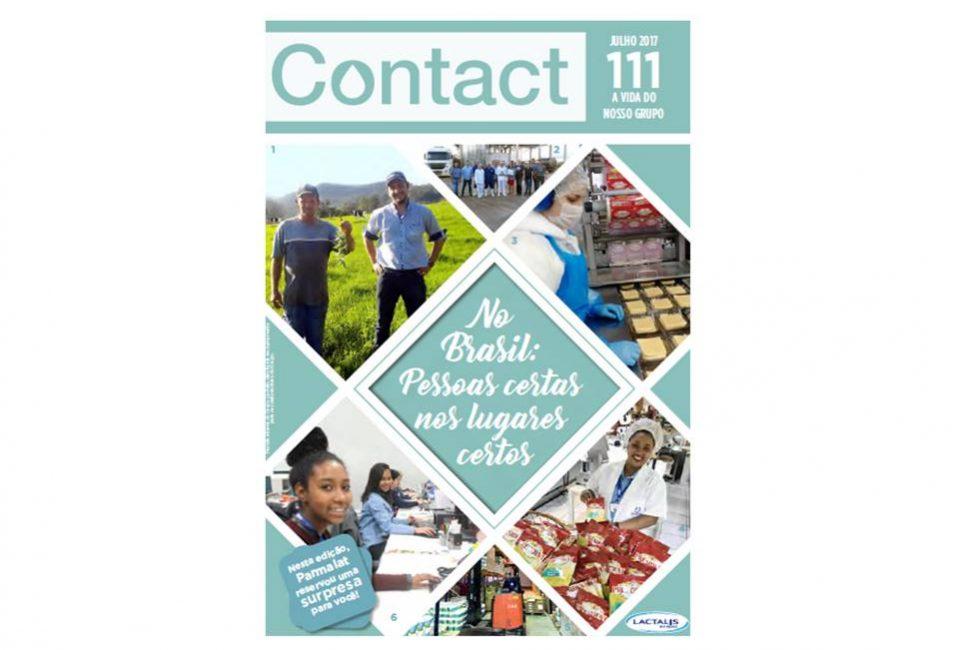 capa da Revista Contact Lactalis