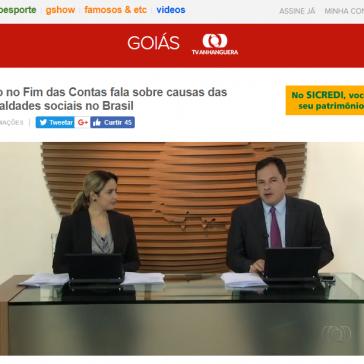 Quadro no Fim das Contas fala sobre causas das desigualdades sociais no Brasil – Bom Dia Goiás