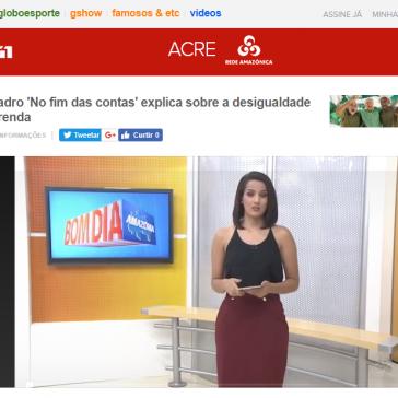 Quadro 'No fim das contas' explica sobre a desigualdade de renda – Bom Dia Amazônia