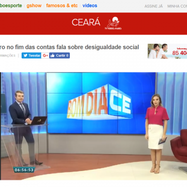 Quadro no fim das contas fala sobre desigualdade social – Bom Dia Ceará