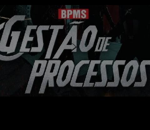 Imagem com a escrita BPMS - Gestão de Processos