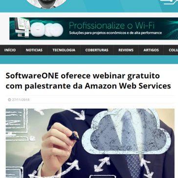 SoftwareONE oferece webinar gratuito com palestrante da Amazon Web Services – Blog do Moreira