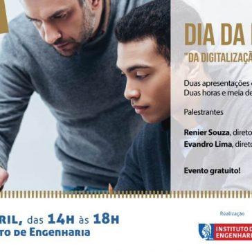 """Instituto de Engenharia oferece a palestra """"Da Digitalização ao Digital"""" no Dia da Mentoria"""