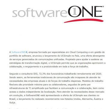 SoftwareONE lança serviço de comunicações unificadas UCSimple no Brasil- E-commerce News