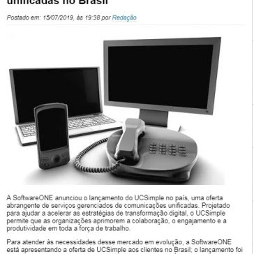 SoftwareONE lança serviço de comunicações unificadas no Brasil- TI Inside