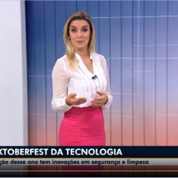 Novidades na segurança e na limpeza da Oktoberfest-   NSC TV (Blumenau) – Globo