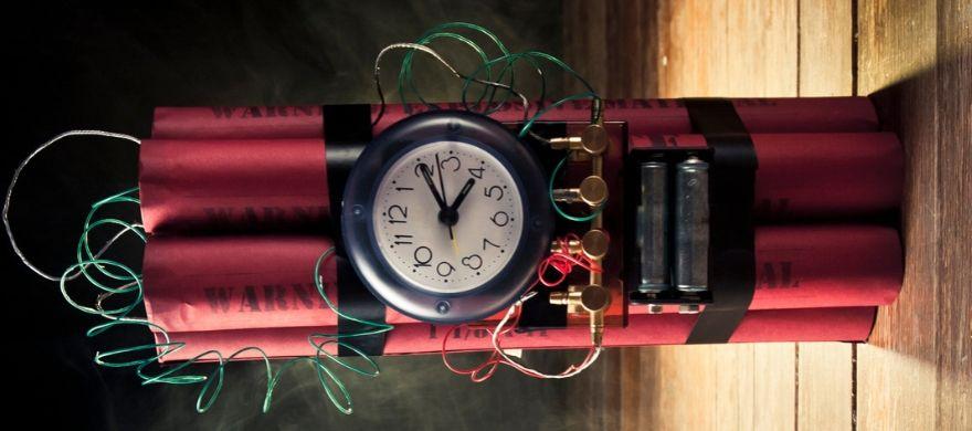 imagem de dinamite vermelha