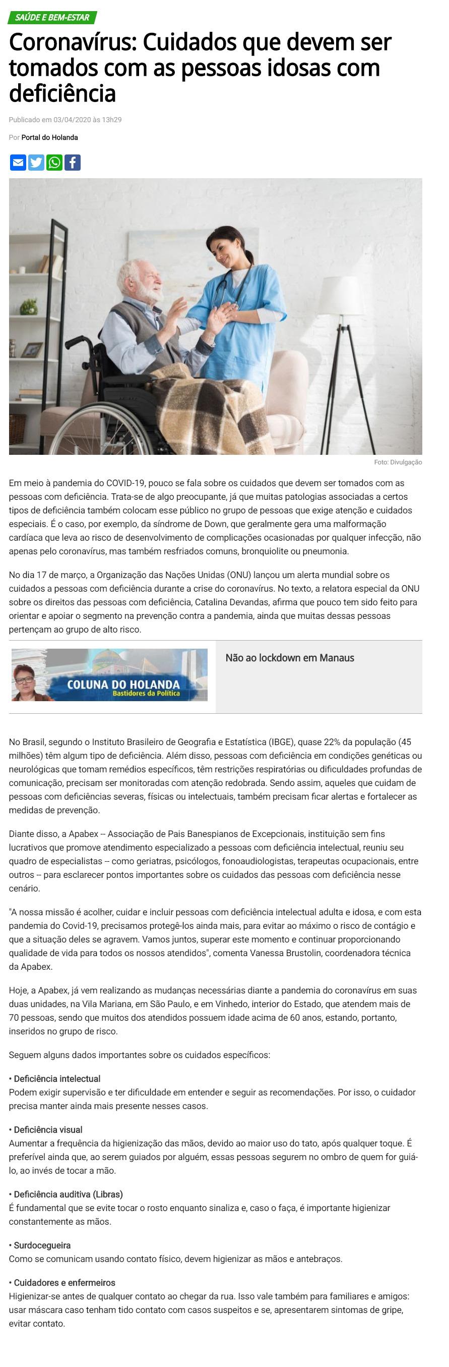 APABEX - Portal de Holanda