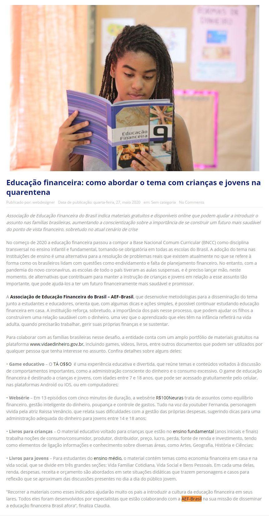 AEF - Jornal Tribuna A2