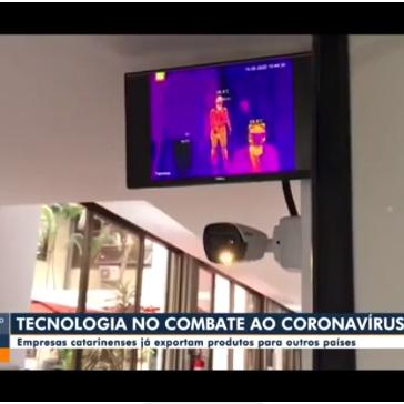 Empresas de SC desenvolvem tecnologias e produtos para ajudar no combate à Covid-19 – GLOBO – NSC TV