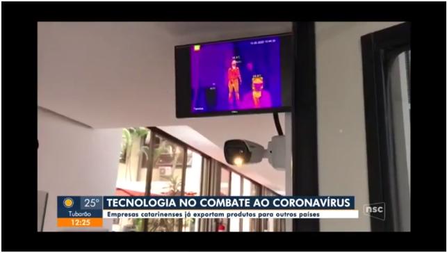 Empresas de SC desenvolvem tecnologias e produtos para ajudar no combate à Covid-19 - GLOBO - NSC TV