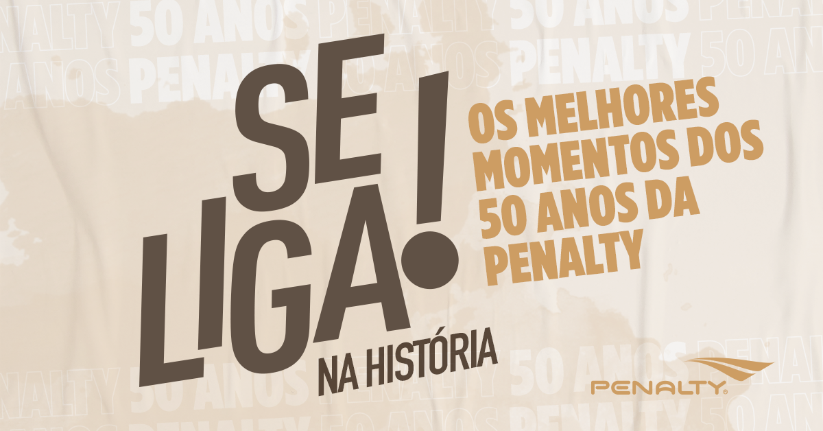 50 anos Penalty