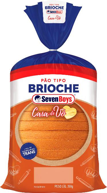 Pão tipo brioche