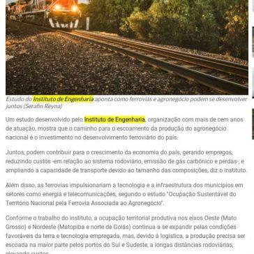 Estudo indica união da ferrovia com o agronegócio para desenvolver o país – Revista Ferroviária