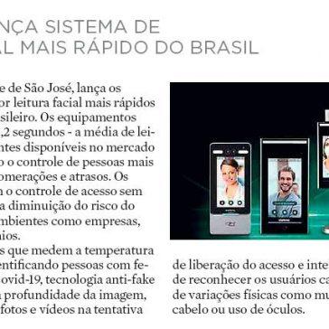 INTELBRAS LANÇA SISTEMA DE LEITURA FACIAL MAIS RÁPIDO DO BRASIL – Diário Catarinense