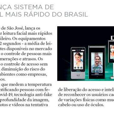 INTELBRAS LANÇA SISTEMA DE LEITURA FACIAL MAIS RÁPIDO DO BRASIL – A Notícia