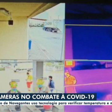 Câmeras no combate à Covid-19 – Globo Play