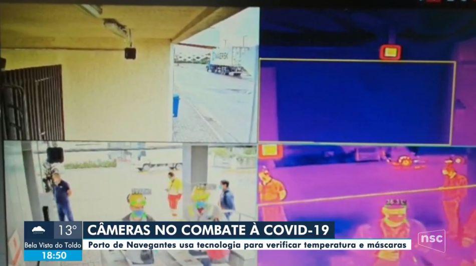 Câmeras no combate à Covid-19 - Globo Play