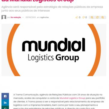 Trama Comunicação é a nova agência da Mundial Logistics Group – ABC da Comunicação