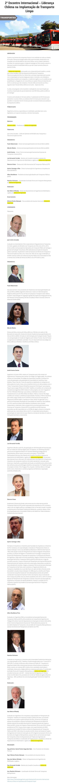 2° Encontro Internacional – Liderança Chilena na Implantação de Transporte Limpo - Aeamesp