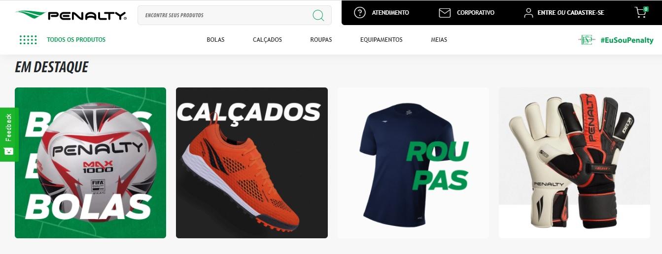 Novo e-commerce e expansão da rede de lojas próprias marcam retomada comercial da Penalty