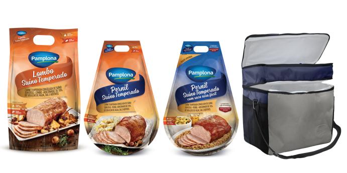 Pamplona Alimentos apresenta kits natalinos
