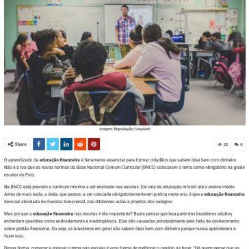 Educação financeira nas escolas: por que é tão importante? – DCI (On-line)