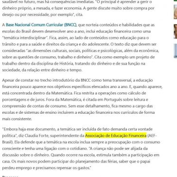 Quando ensinar finanças entra na conta – MSN Brasil