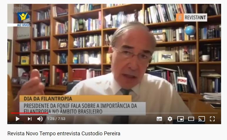 Revista Novo Tempo entrevista Custodio Pereira