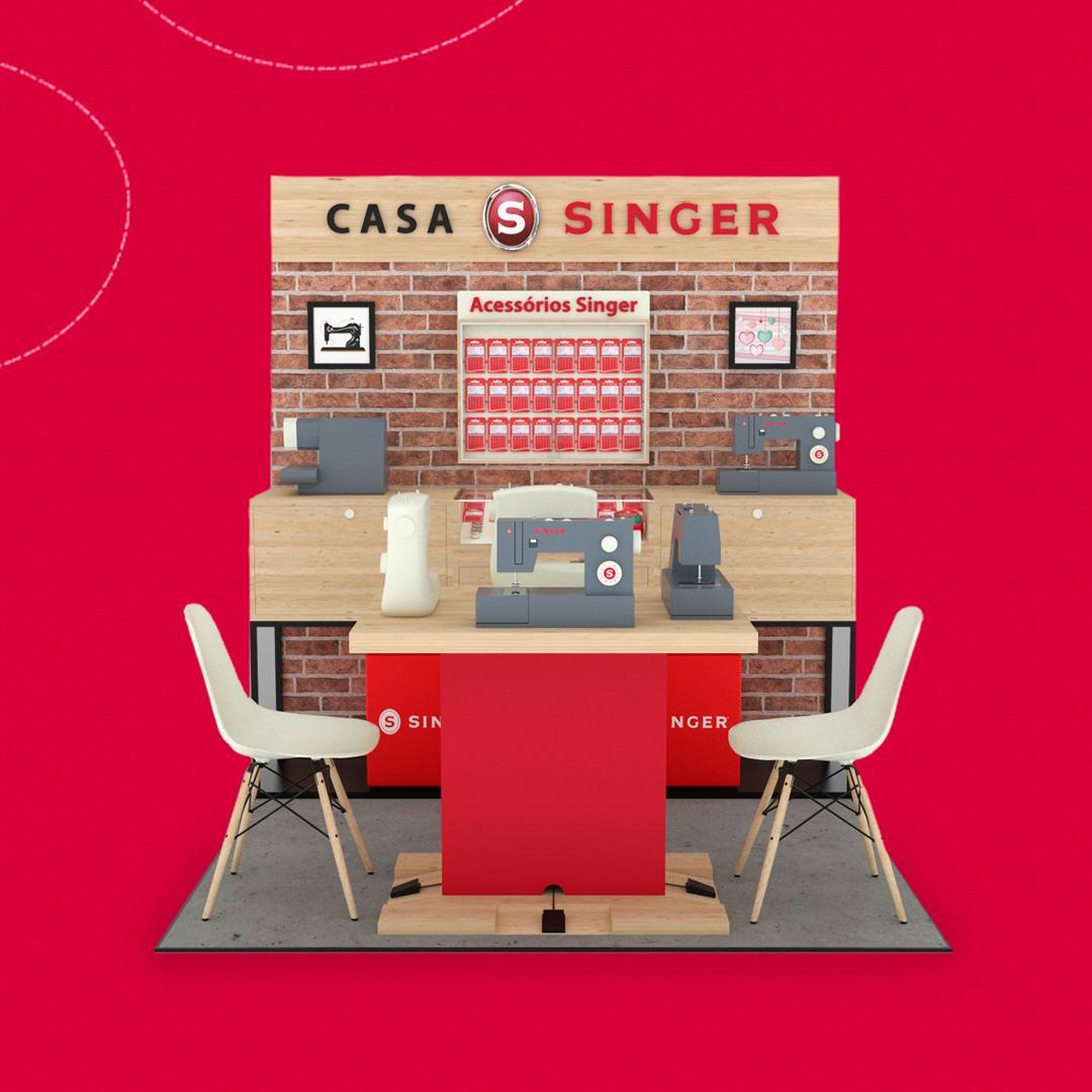 Singer inaugura cinco store in store em lojas dos hipermercados Extra do grupo pão de açúcar