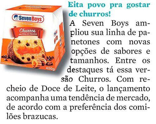Eita povo pra gostar de churros - Diário do Pará