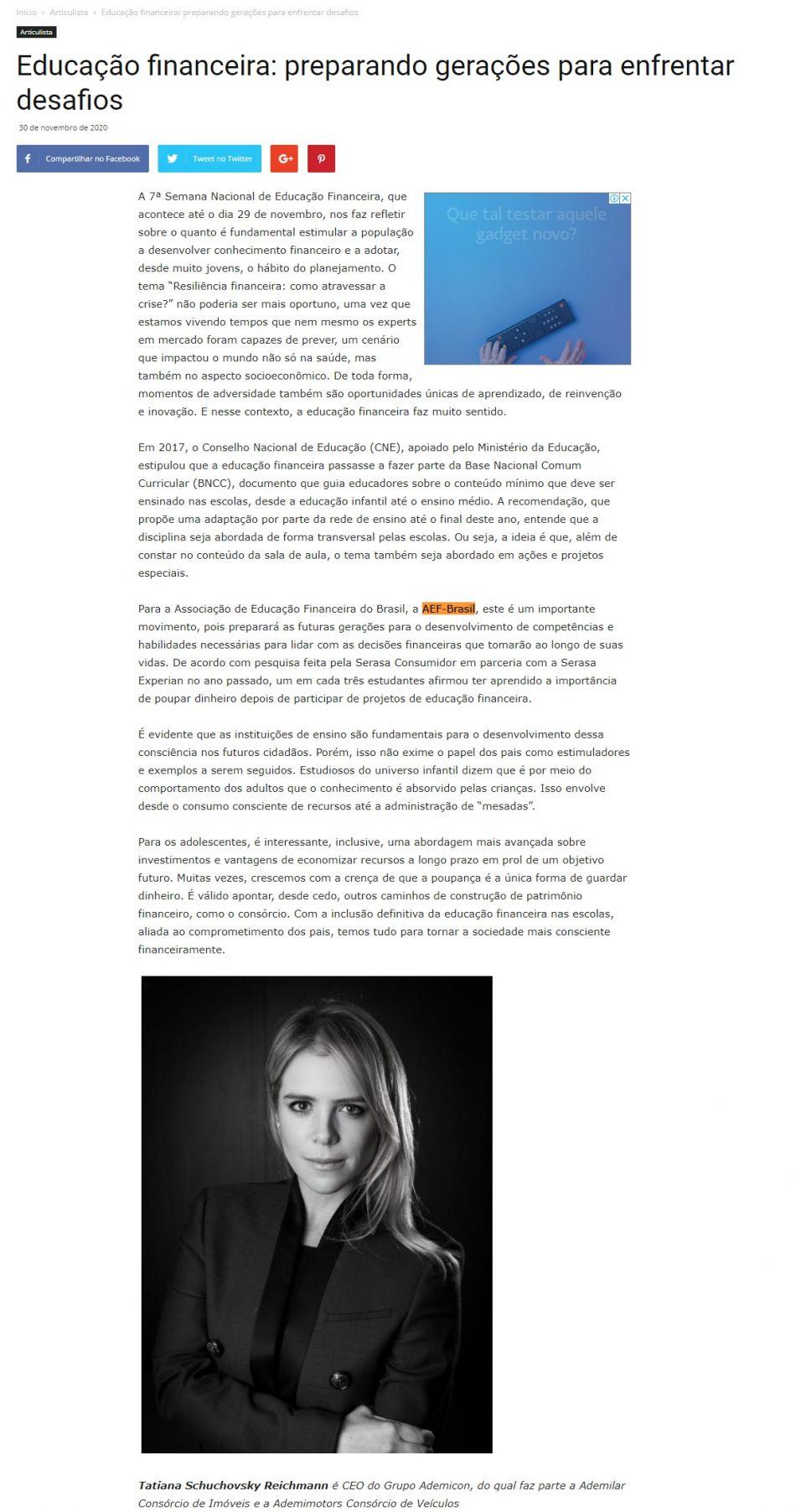 Educação financeira: preparando gerações para enfrentar desafios - Jornal O Município