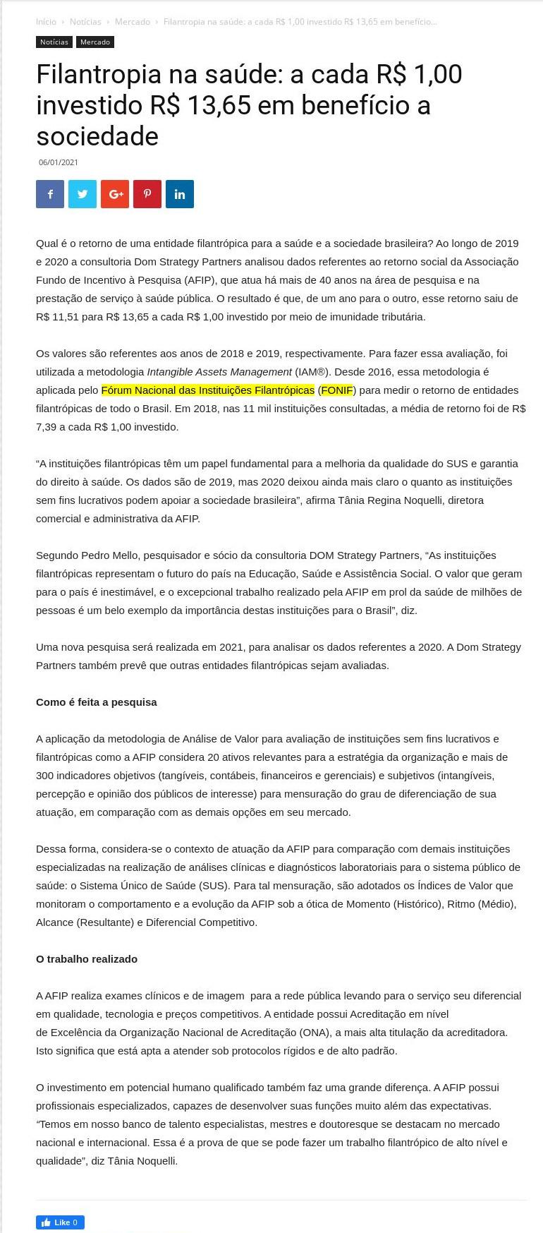 Filantropia na saúde: a cada R$ 1,00 investido R$ 13,65 em benefício a sociedade - Portal Hospitais Brasil