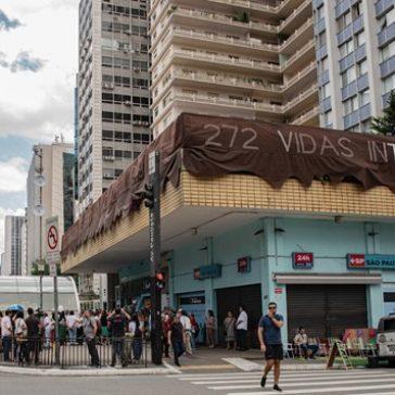 Dois anos da tragédia de Brumadinho: vítimas são homenageadas na Avenida Paulista