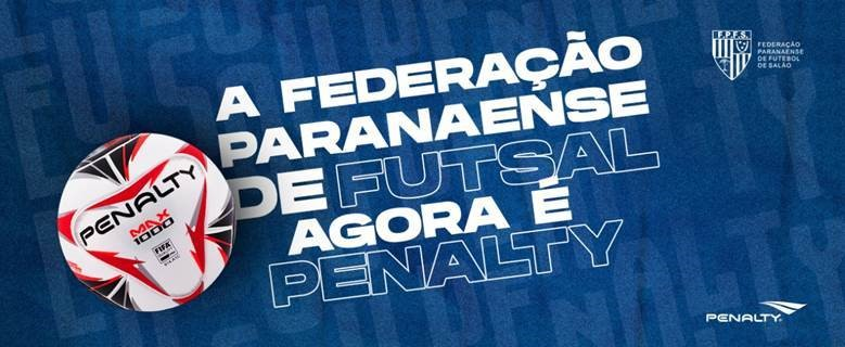Com novo contrato, Futsal Paraná contará com a bola Max 1000, certificada pela FIFA e considerada uma das melhores do mundo para a prática da modalidade