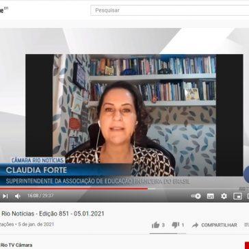 Câmara Rio Notícias – Edição 851 – 05.01.2021 – TV Câmara Rio