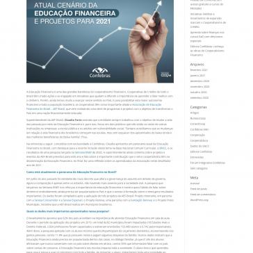 O panorama da educação financeira do País, na visão da superintendente da AEF-Brasil – Confebras