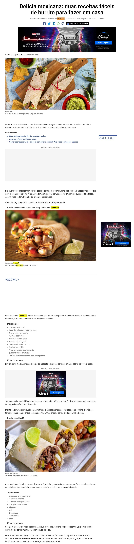 Delícia mexicana: duas receitas fáceis de burrito para fazer em casa - Receitas IG