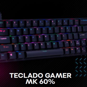 Dazz inova com o lançamento do teclado gamer MK 60%