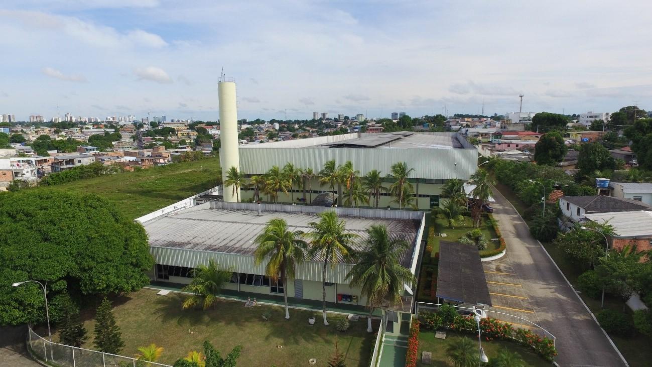 Intelbras_ Vista aérea da fabrica em Manaus
