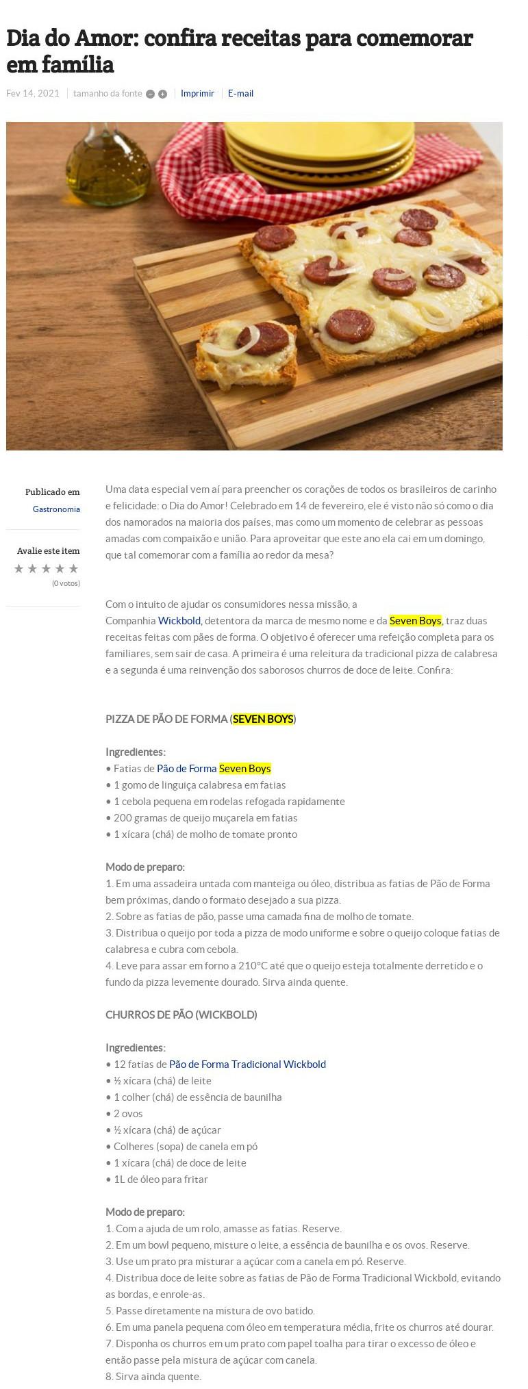 Dia do Amor: confira receitas para comemorar em família - Folha do ABC
