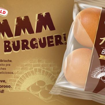 Wickbold apresenta pão de hambúrguer sabor Brioche