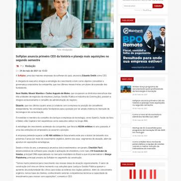 Softplan anuncia primeiro CEO da história e planeja mais aquisições no segundo semestre – Economia SC