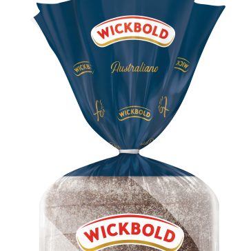 Inédito no mercado: pão integral Australiano chega para complementar linha Do Forno Wickbold