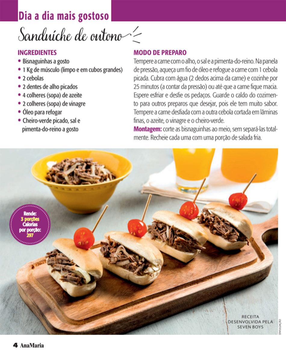 210409 - Ana Maria Receitas (Revista Ana Maria)
