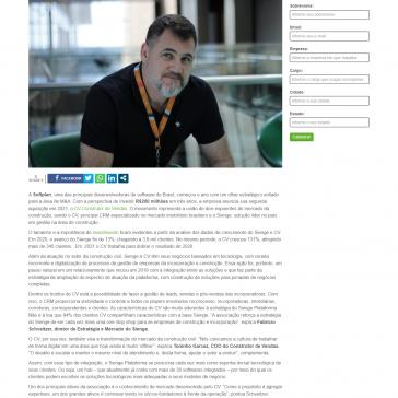 Softplan anuncia sua segunda aquisição em 2021 – Startupi