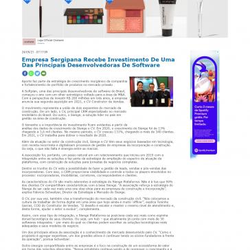 Empresa Sergipana Recebe Investimento De Uma Das Principais Desenvolvedoras De Software – Faxaju