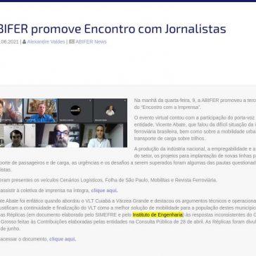 ABIFER promove Encontro com Jornalistas – ABIFER